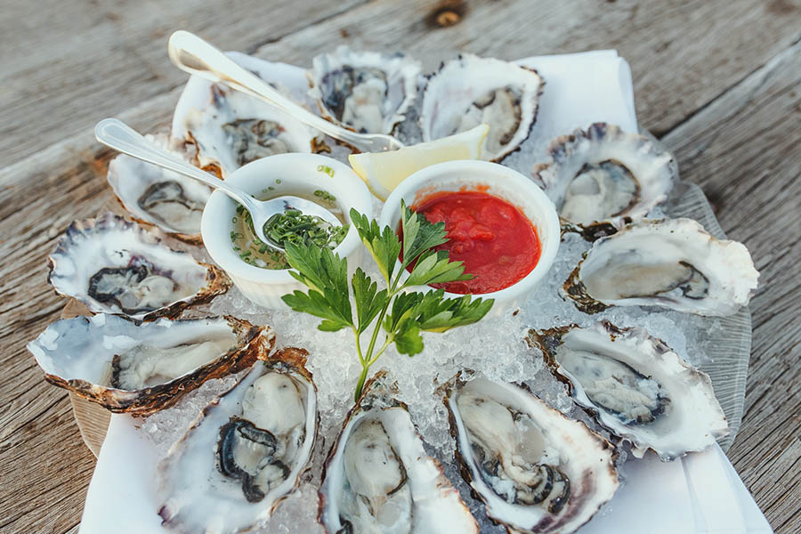 Salt and Stone Oysters