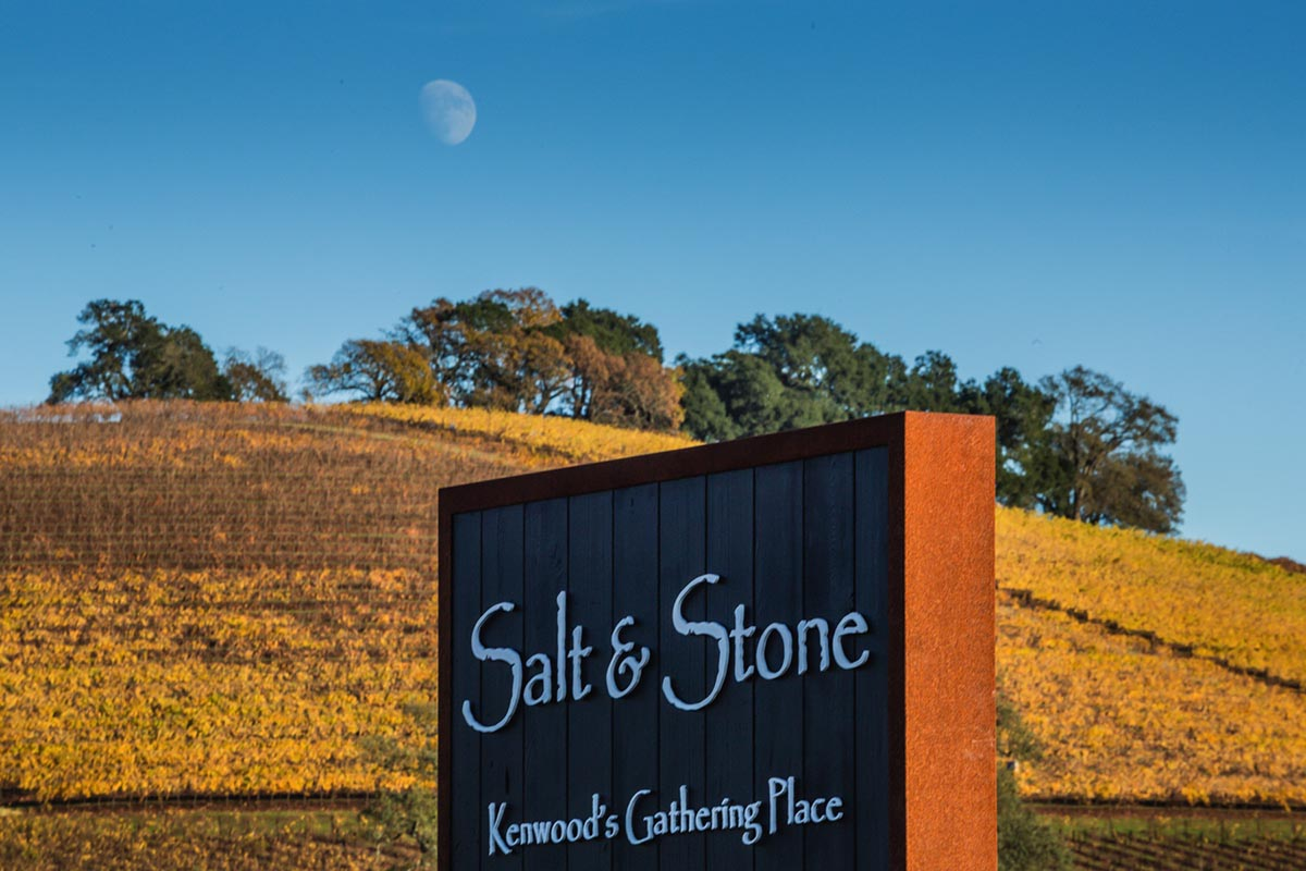 Salt and Stone Sign